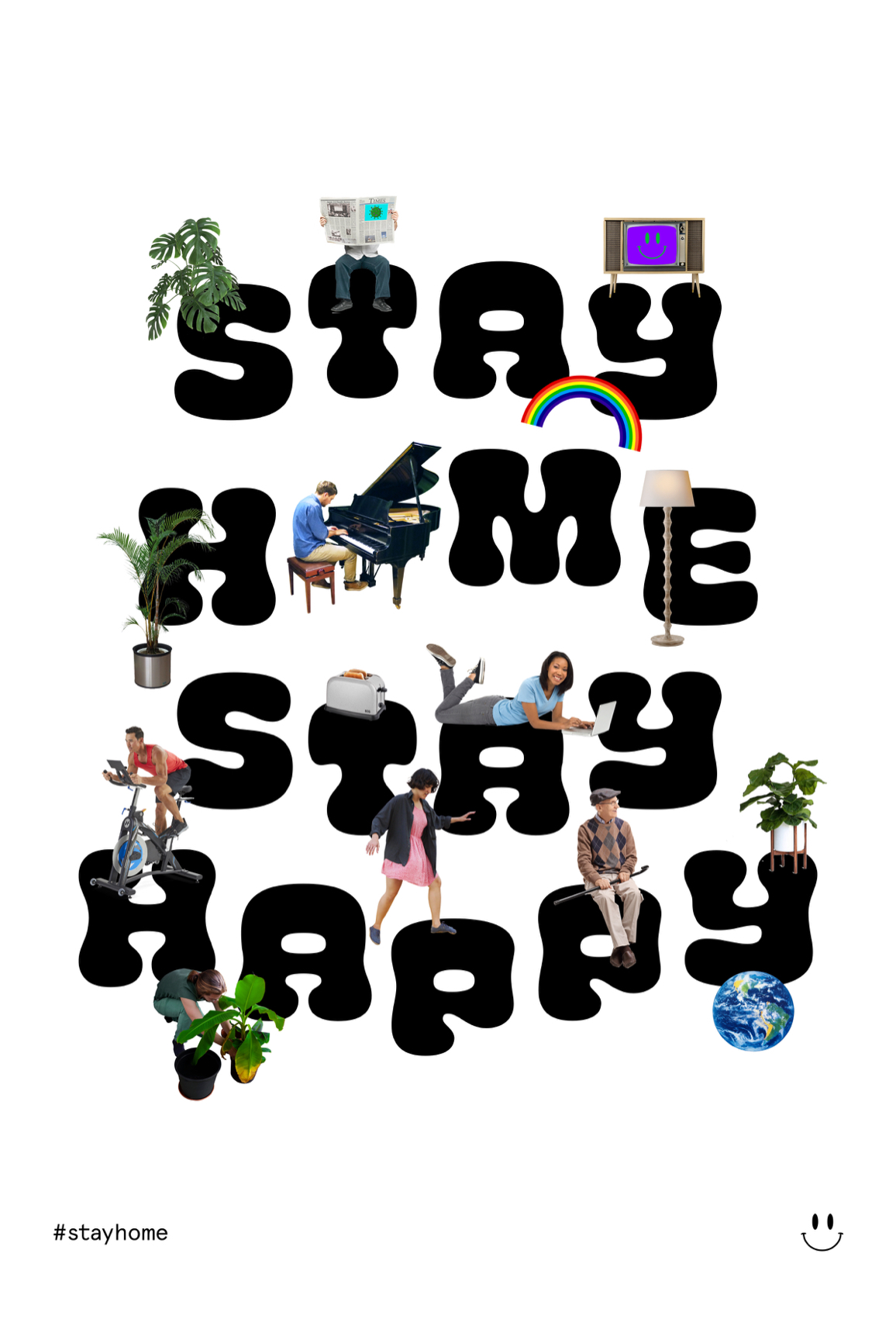 Stay Home, Stay Happy