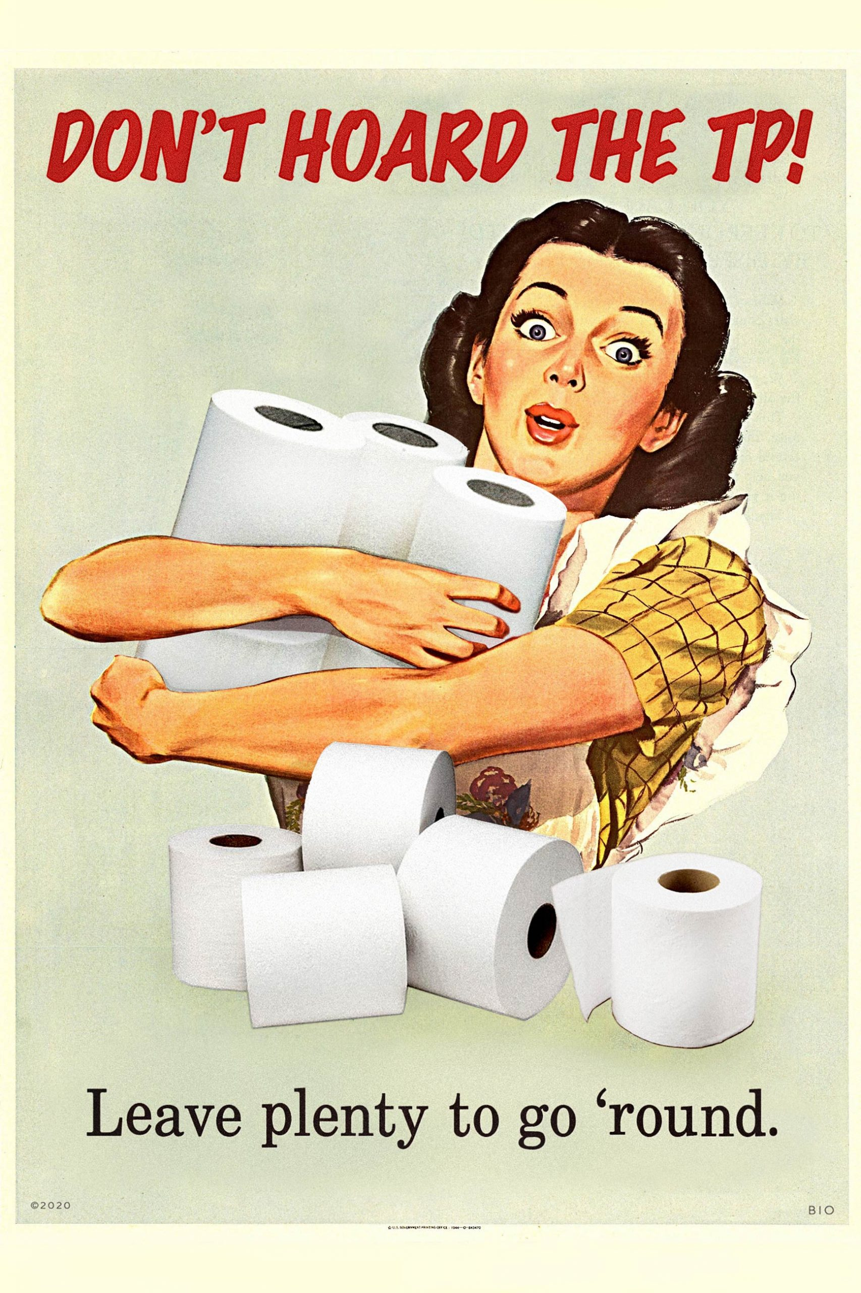 Don't Hoard The TP