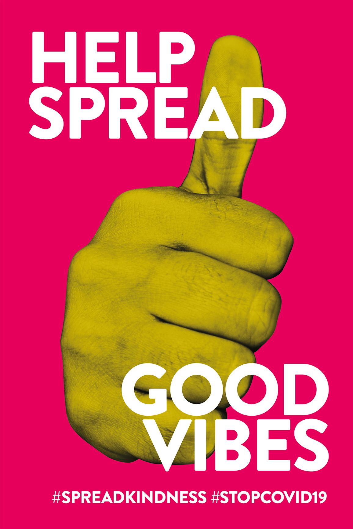 Help spread good vibes