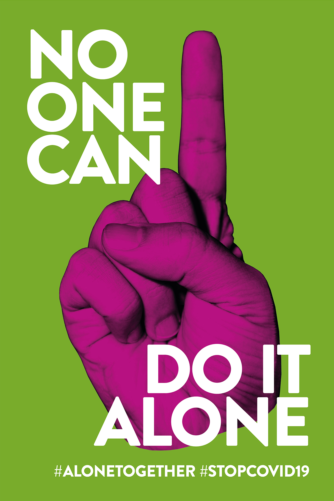 No one can do it alone