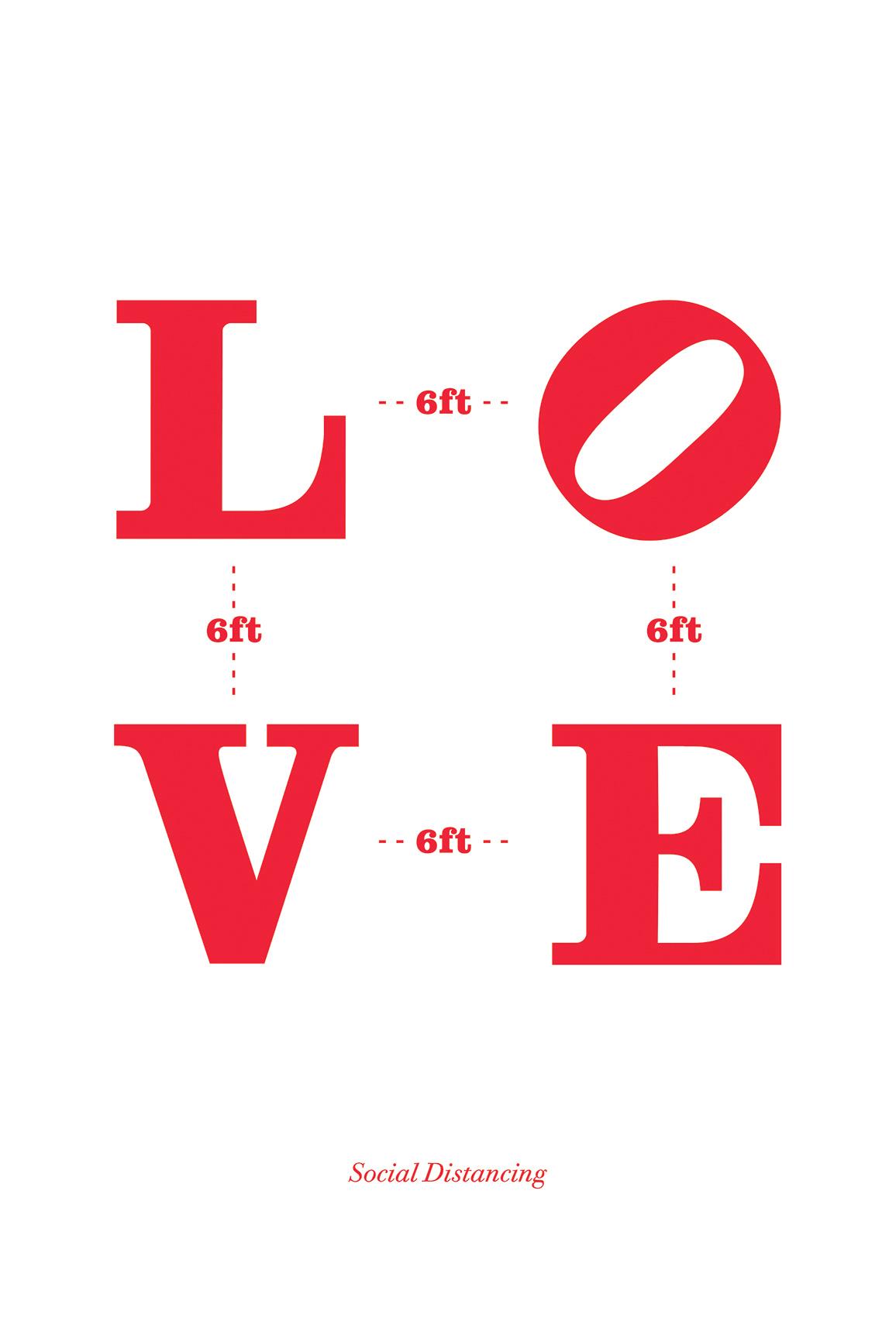 Love at 6ft