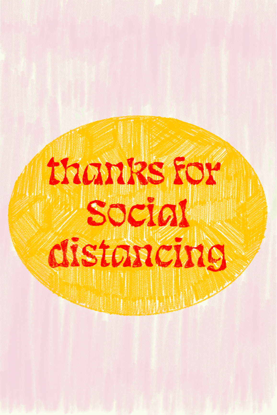 thanks for social distancing