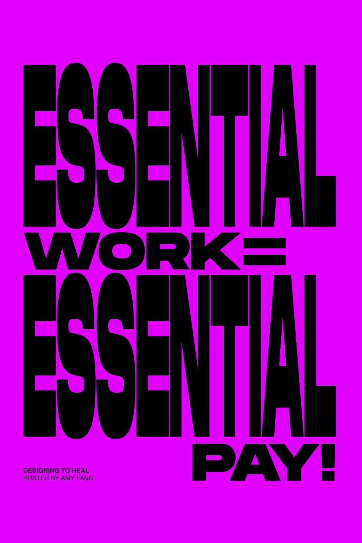 Essential Work = Essential Pay!