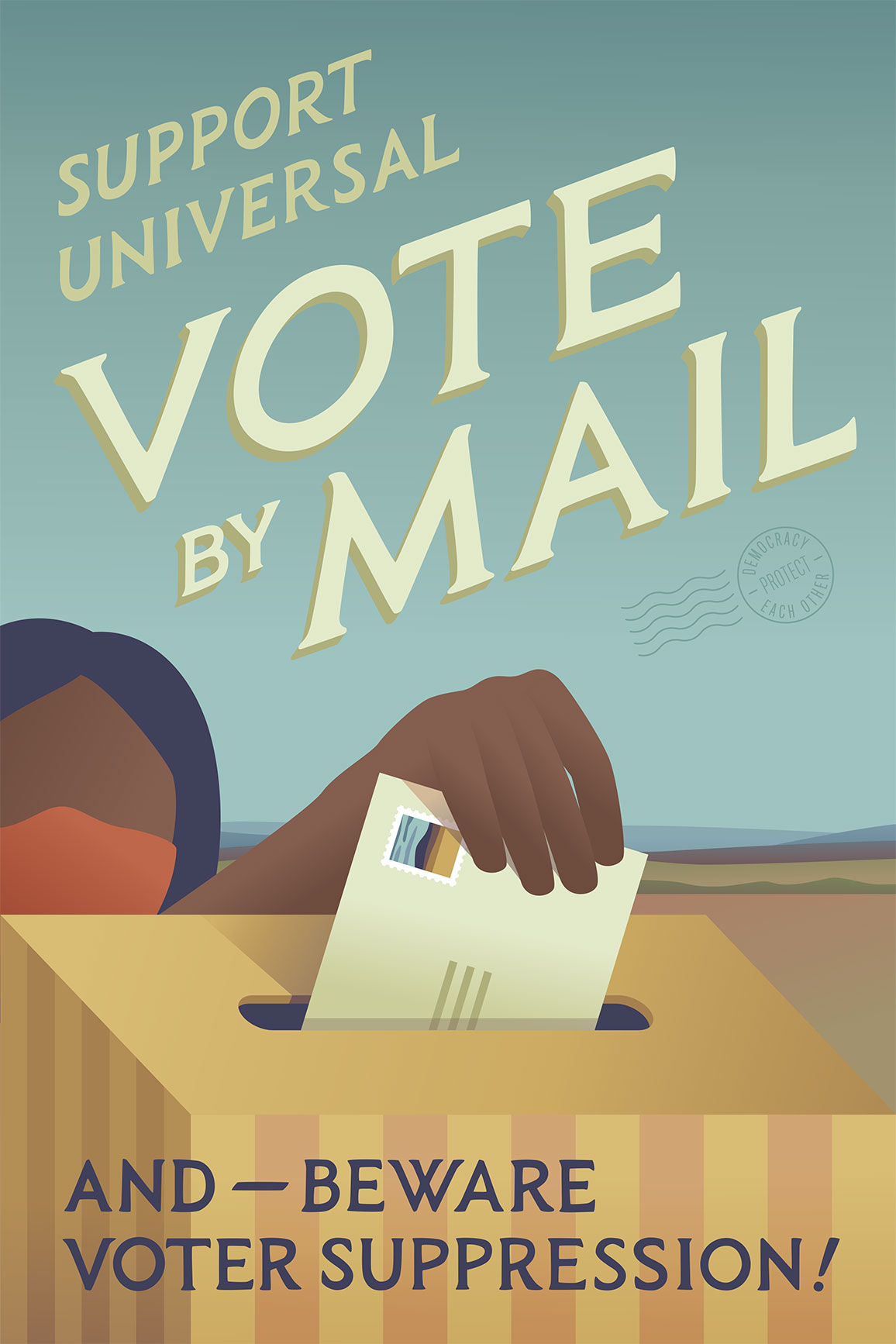 Universal Vote by Mail!