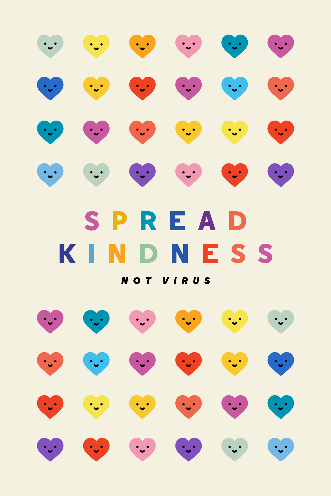 Spread Kindness Not Virus